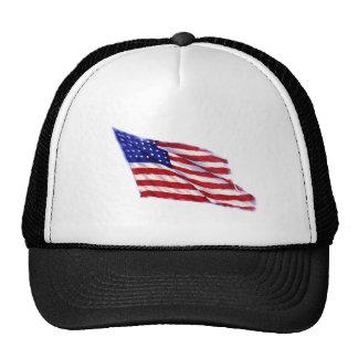 US - American Flag Mesh Hat