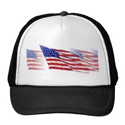 US - American Flag Hat