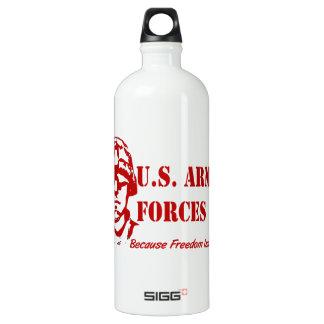 US Armed Forces (Red) SIGG Traveller 1.0L Water Bottle