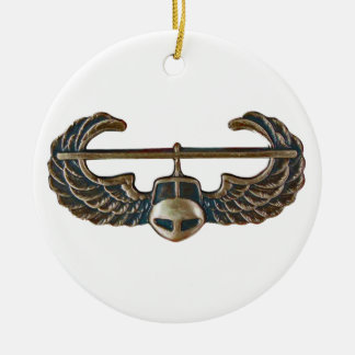 US Army Infantry - Airmobile Round Ceramic Decoration