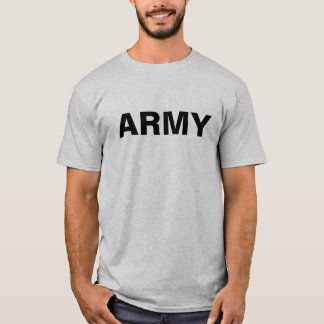 US ARMY PHYSICAL TRAINING PT TSHIRT SHIRT