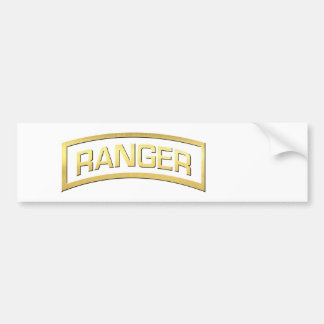 "US Army Ranger ""Marines need a hero too"" Bumper Sticker"