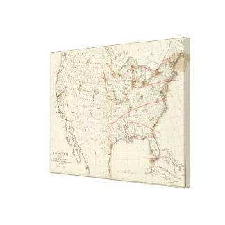 US Barometer Canvas Print