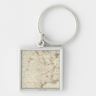 US Barometer Key Ring