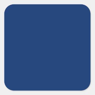 US Blue Square Sticker