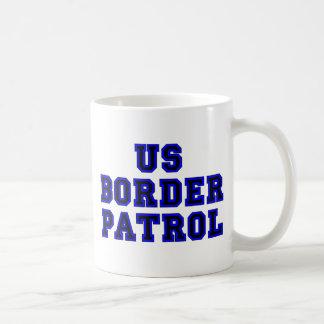 US Border Patrol Basic White Mug