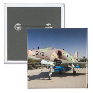 US-built A-4 Skyhawk fighter 15 Cm Square Badge