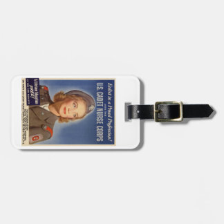 US Cadet Nurse Corps Luggage Tag