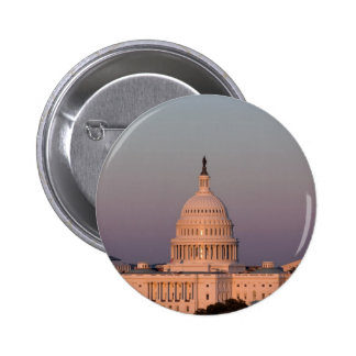US Capitol at Dusk Button