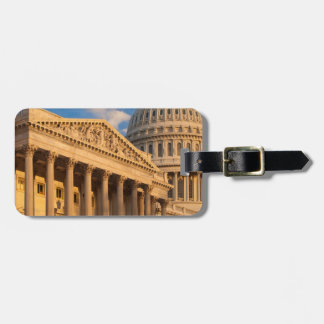 US Capitol Building Luggage Tag