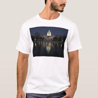 US Capitol Building Night T-Shirt