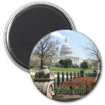 US Capitol building spring Refrigerator Magnet