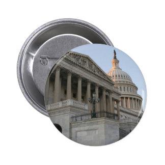 US Capitol Building Sunset 6 Cm Round Badge