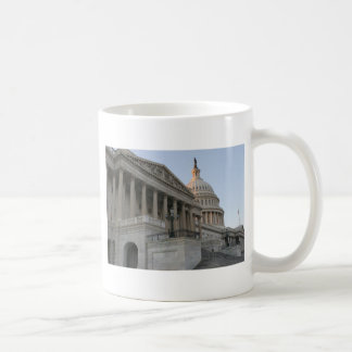 US Capitol Building Sunset Mugs