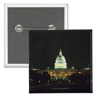 US Capitol Building, United States Congress, 15 Cm Square Badge
