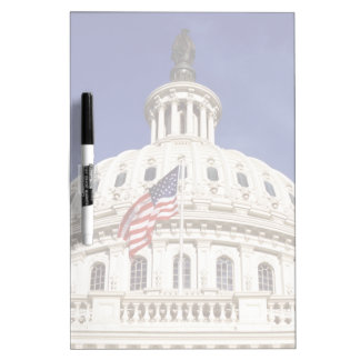US capitol building, Washington DC Dry Erase Board