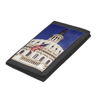 US capitol building, Washington DC Tri-fold Wallet