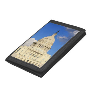 US Capitol Building, Washington DC, USA Trifold Wallets