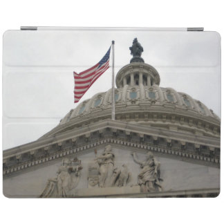 US Capitol Building with American Flag - East iPad Cover