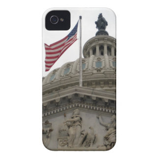 US Capitol Building with American Flag - East iPhone 4 Cases