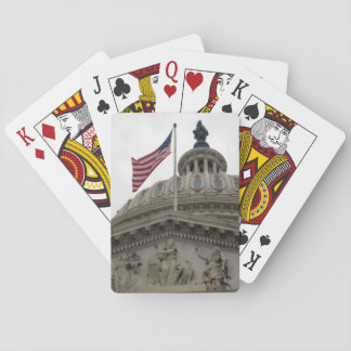 US Capitol Building with American Flag - East Playing Cards