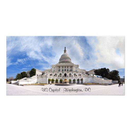 US Capitol, Washington, DC Personalized Photo Card