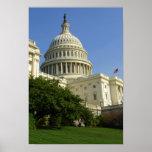 US Capitol Washington DC Poster
