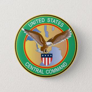 US Central Command CENTCOM 6 Cm Round Badge