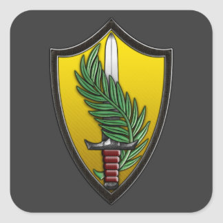 US Central Command Square Sticker