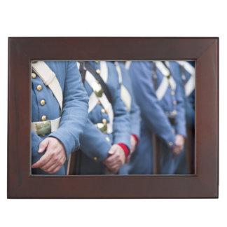 US Civil War-era Marines, military Keepsake Box