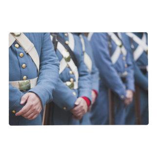US Civil War-era Marines, military Laminated Placemat