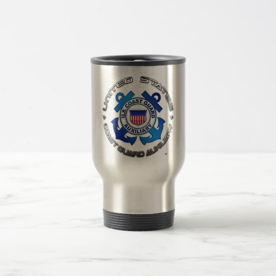US Coast Guard Auxiliary Travel Mug