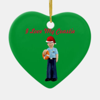 "US Coast Guard ""Coastie"" Christmas Ornament"