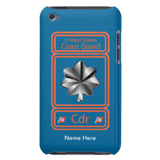 US Coast Guard Commander Logo Barely There iPod Case