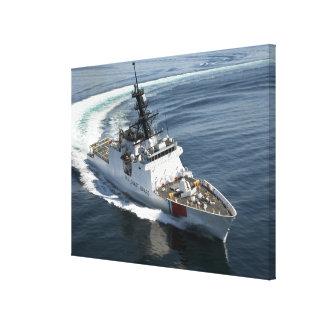 US Coast Guard Cutter Waesche 2 Canvas Print