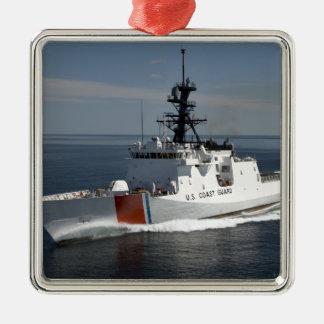 US Coast Guard Cutter Waesche 3 Christmas Ornament