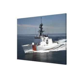 US Coast Guard Cutter Waesche Canvas Print