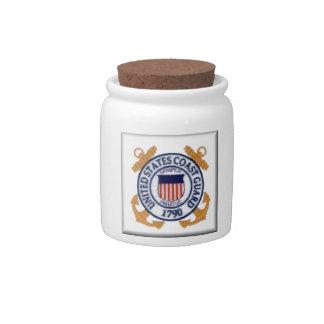 US Coast Guard Emblem1 Candy Dish