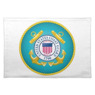US Coast Guard Emblem Place Mat