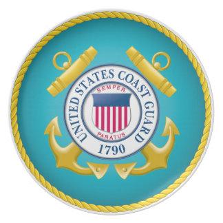 US Coast Guard Emblem Party Plates
