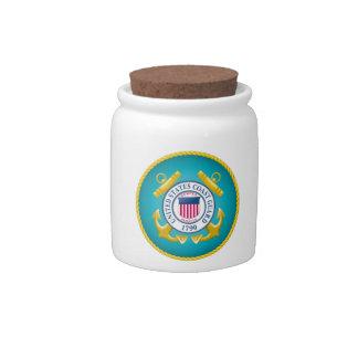 US Coast Guard Emblem Candy Dish