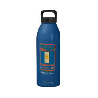 US Coast Guard Ensign Logo Drinking Bottles