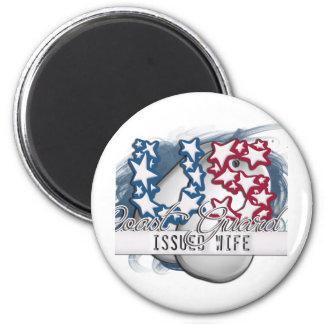 US Coast Guard Issued Wife Fridge Magnet