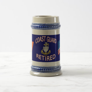 US Coast Guard SCPO Retired Stein