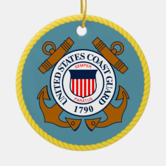 US Coast Guard Seal Christmas Ornament