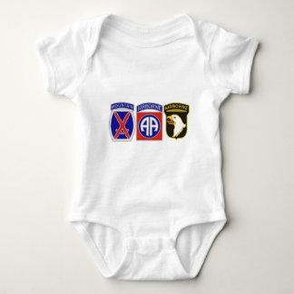 US Combat Service Identification Badges Tee Shirt