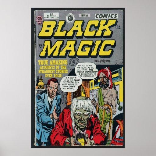 US comic - Black Magic Poster