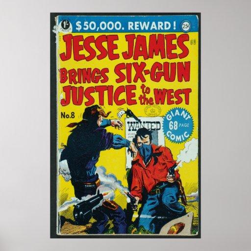 US comic - Jesse James Posters