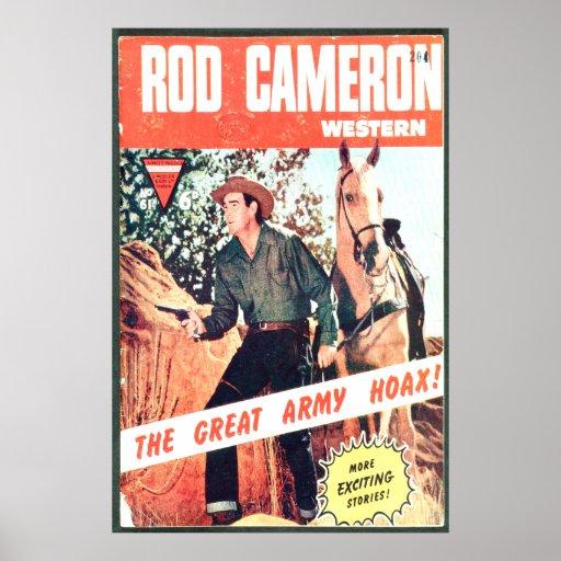 US comic - Rod Cameron Posters