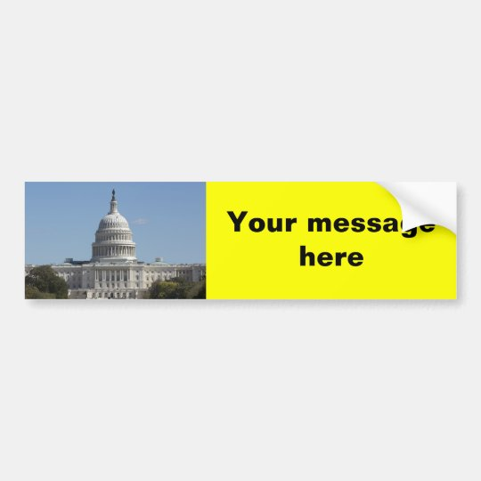 US Congress Bumper Sticker
